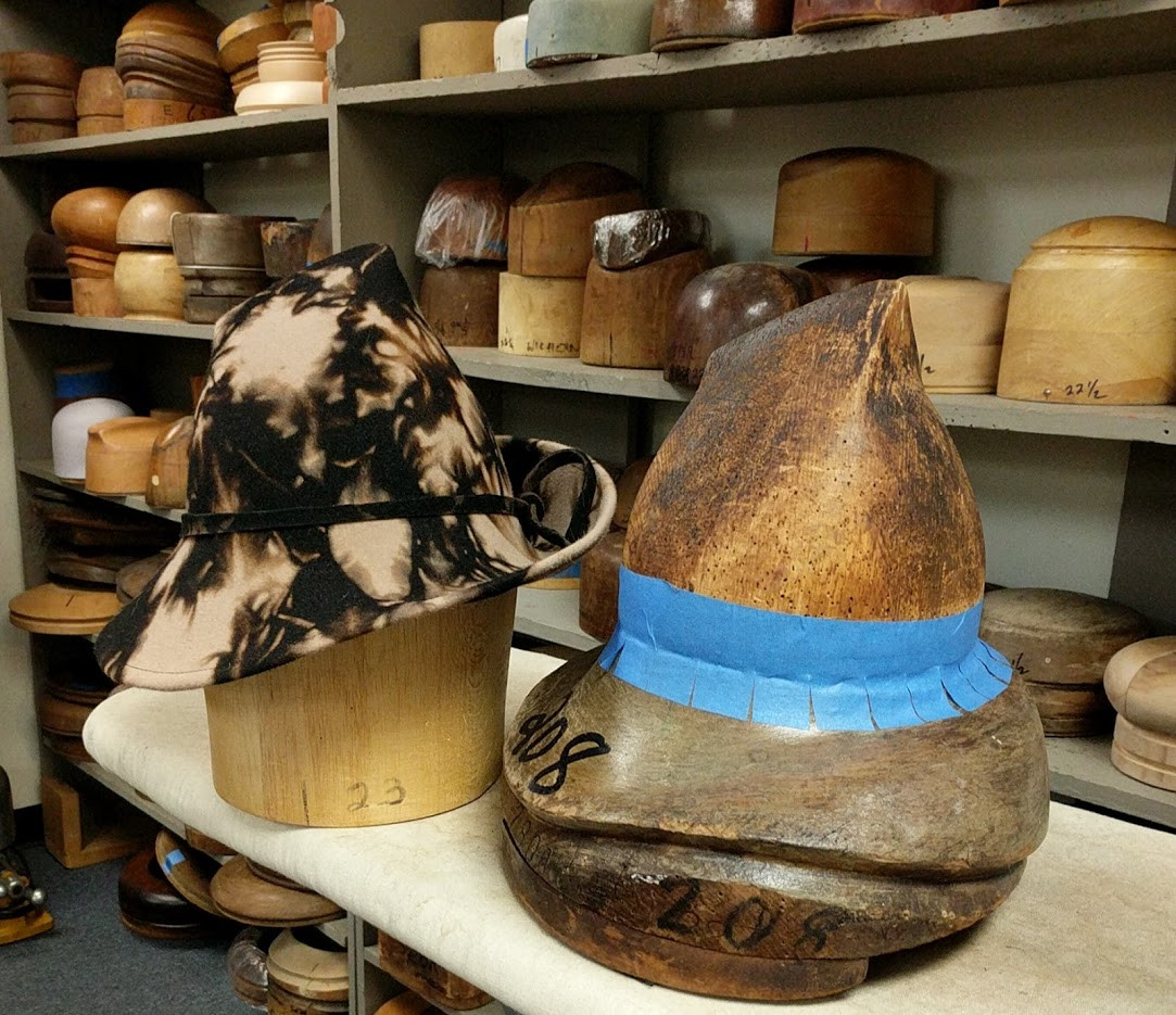 Mottled Felt Hat