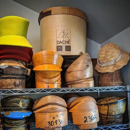 Vintage Lilly Dache Hatbox - Studio work