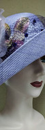 Lavender Straw Hat (for client attending