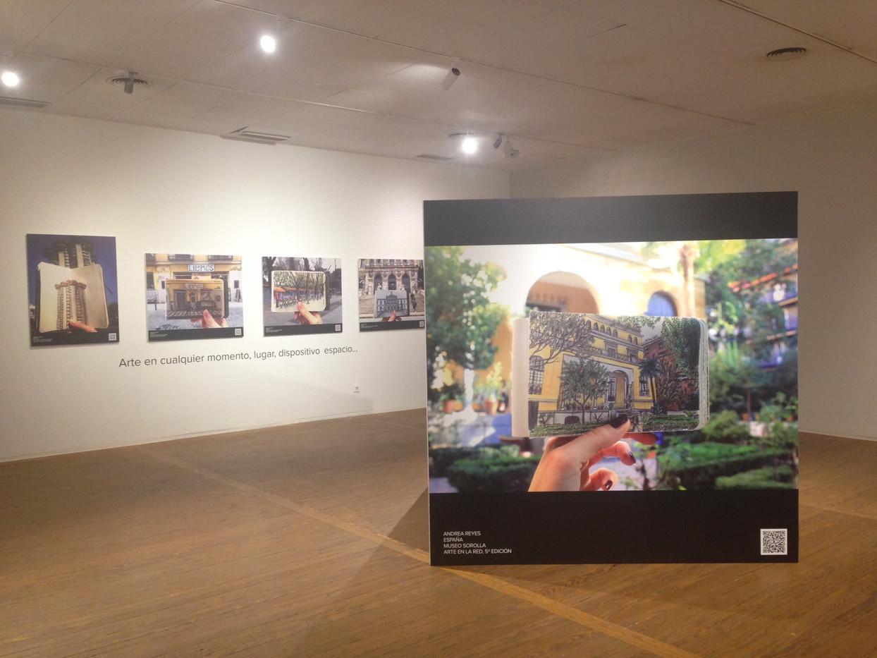 Reproducciones para la exposición de Arte en la Red, en la Casa de América.