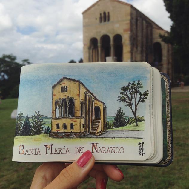 Santa María del Naranco, Oviedo