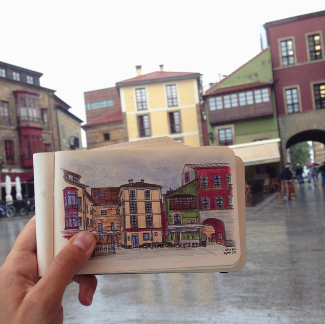 Plaza del Marqués, Gijón