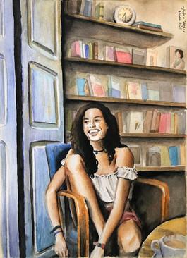 Retrato para Silvia (A4)