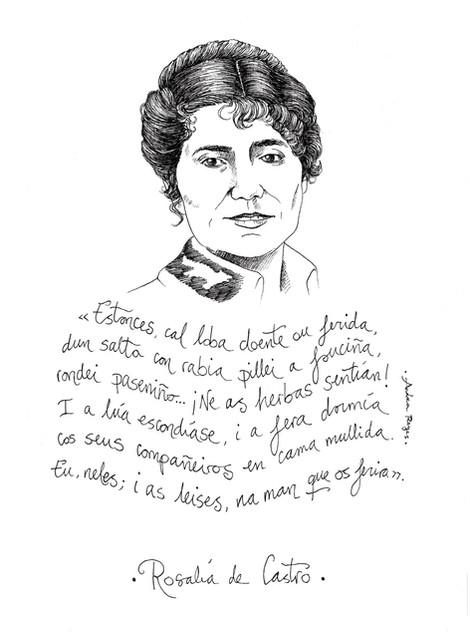 Rosalía de Castro (A4)