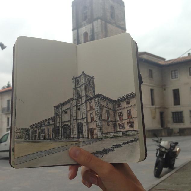 Colegiata Santa María la Mayor, Pravia,_