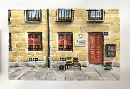 Librería La Galatea, Salamanca (A4).