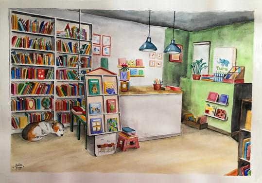 Librería Turu Letras, Madrid (A3)
