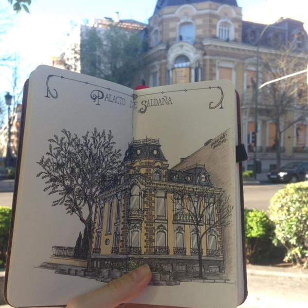Palacio de Saldaña (Calle Ortega y Gasset)