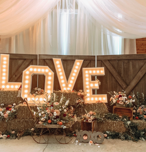 LOVE Marquis Light Letters (4 ft tall)