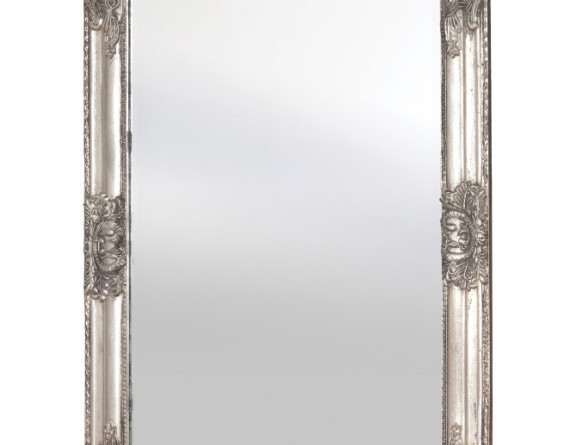 Antique Silver Mirror For Signs