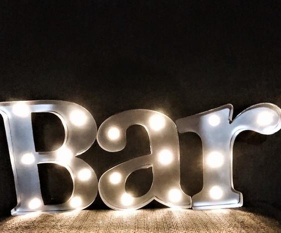 Light-Up Bar Sign (table-top)