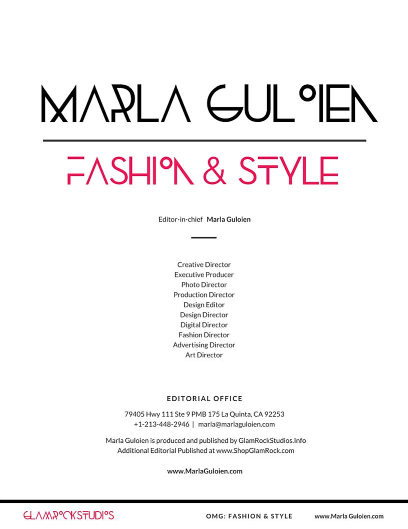 Contact Marla Guloien Editor In Chief