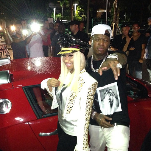 "Nicki Minaj Wears Custom Fashion by Marla Guloien To Film VH1's ""The Fab Life"""