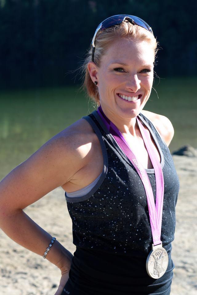 Canadian Olympian Krista Guloien