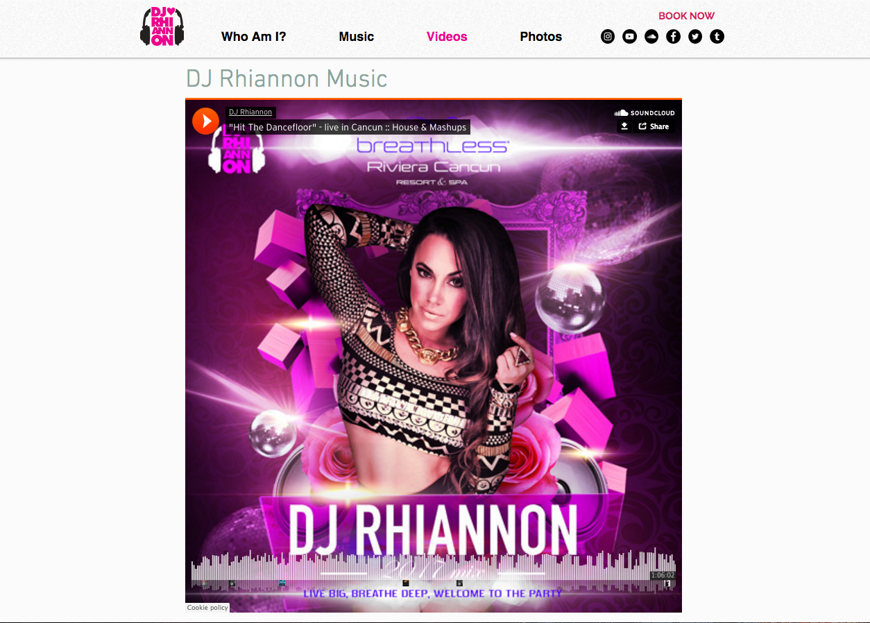 Official Site of Rhianon Roze
