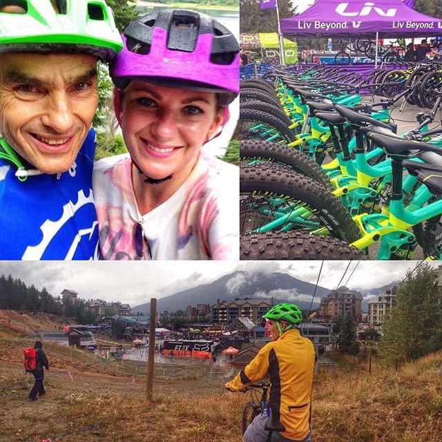 Crankworx Mountain Bike Festival in Whistler with Nels Guloien and Marla Guloien