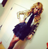 Latin Pop Sensation & X-Factor Judge Paulina Rubio in GlamRock by Marla Guloien