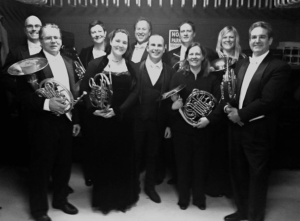 Philadelphia Orchestra horns with Yannick