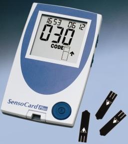 глюкометр sensocard plus