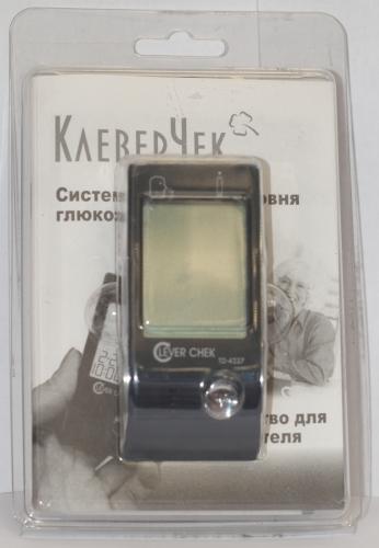 Глюкометр CLEVER CHECK TD-4227
