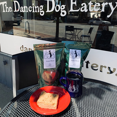 Dancing Dog's Famous House Coffee