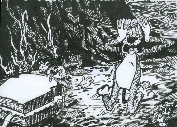Fever Dream (Sketchbook Project)