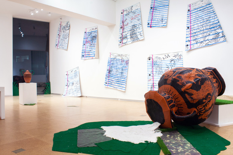 MFA Thesis Show (Installation View)
