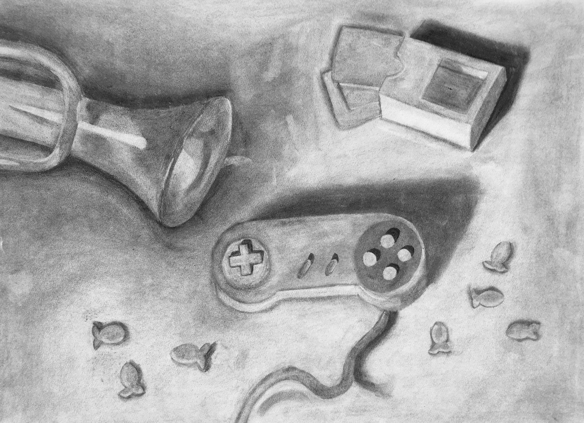 Still Life Assigment (Three Objects)