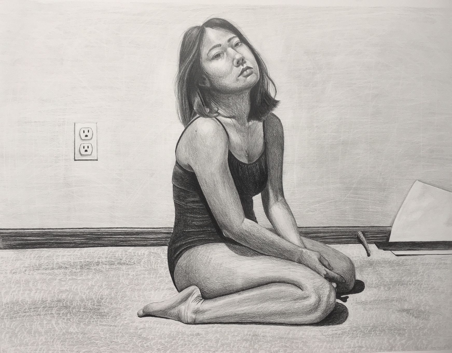 Self-Portrait Assigment (Full Body)