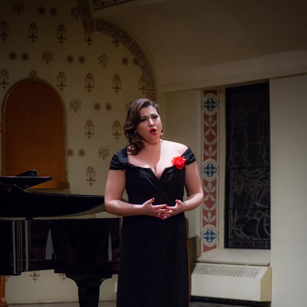 Natasha Novitskaia, mezzo