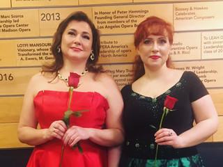soprano and mezzo