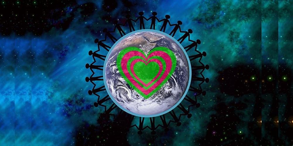 Peace, Love, Unity, One Consciousness