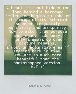 BORROWED REFLECTION