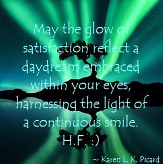Glow of satisfaction :)