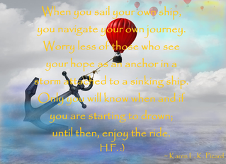 SAIL your own ship.