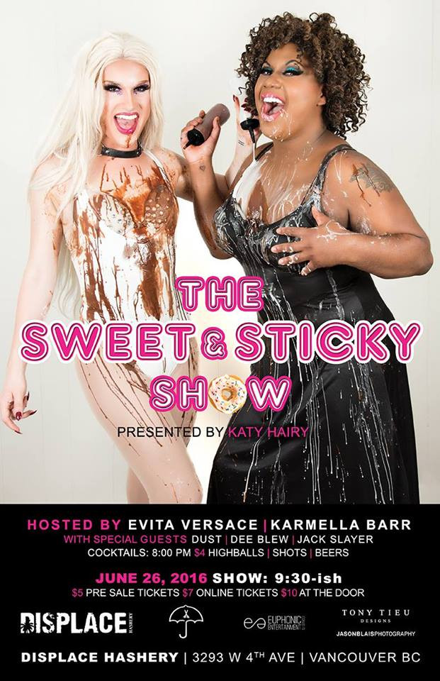 Sweet & Sticky Drag Show