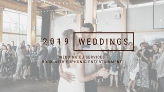 Book Your 2019 Wedding DJ Today
