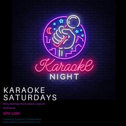 Copy of Karaoke  Saturdays