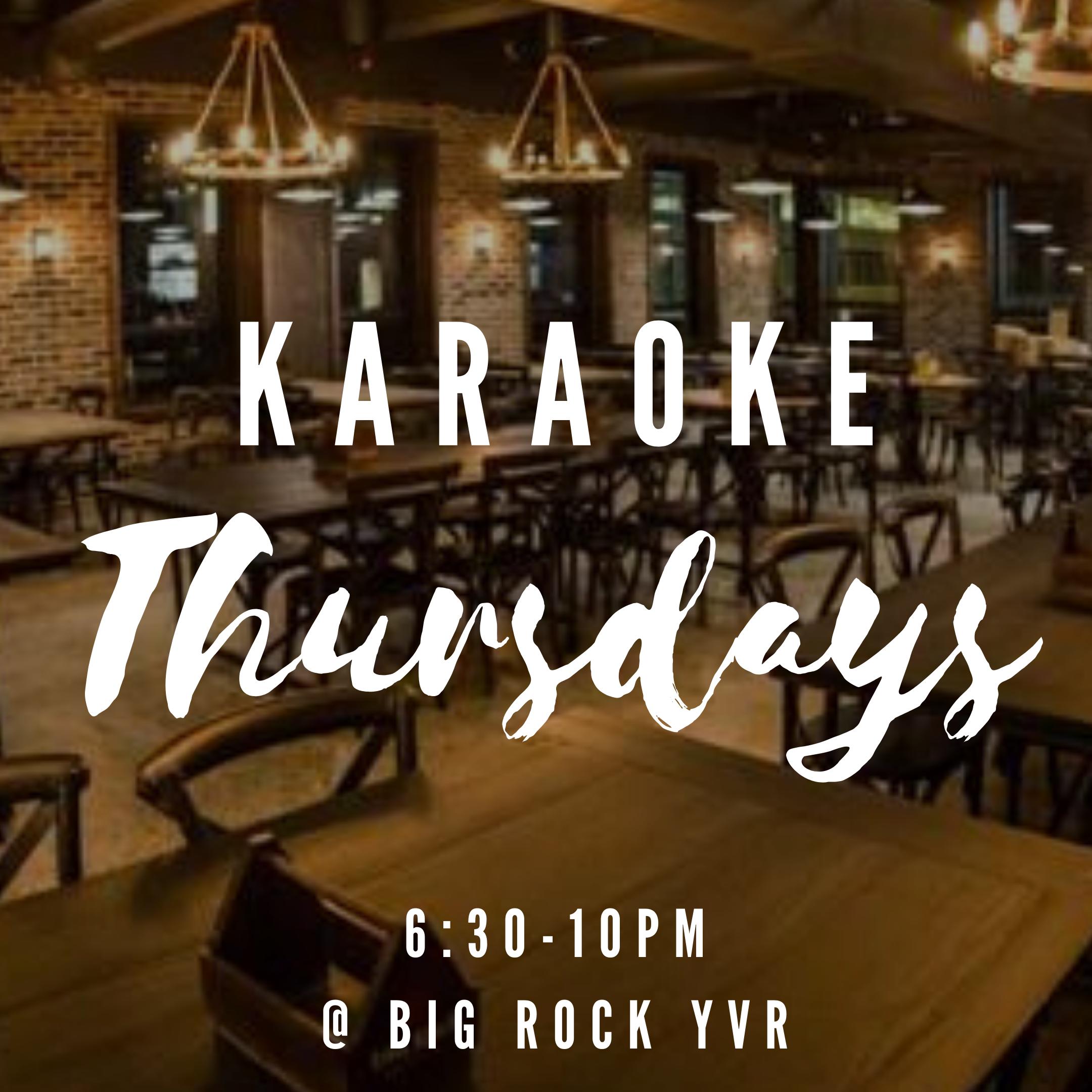 Big Rock Karaoke