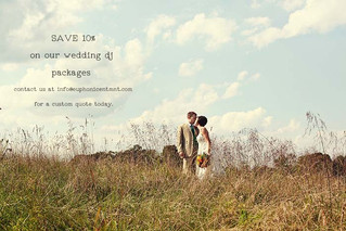 Save 10% on our Wedding Packages