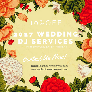 Save on your 2017 Wedding