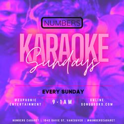 Numbers Karaoke Instagram