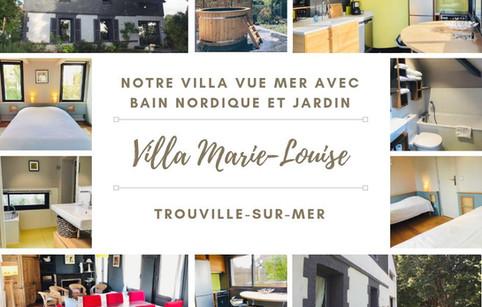 "Villa Vue Mer ""Marie Louise"""