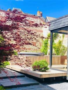 Maison d'architecte avec SPA centre Honfleur