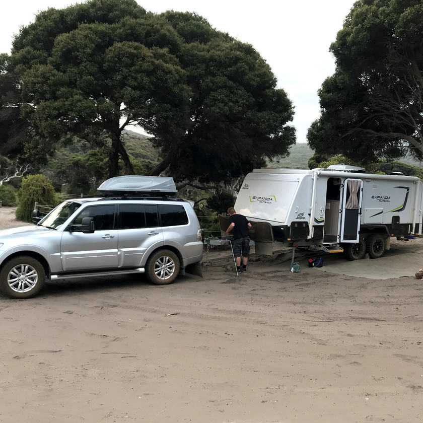 campsite at boat harbour bay