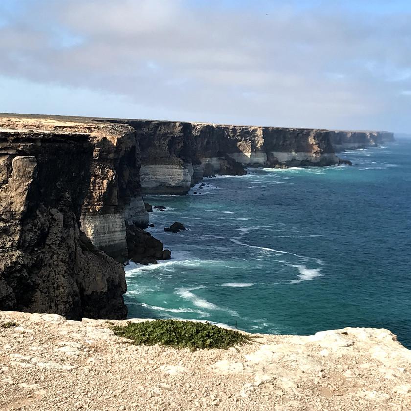 cliff tops