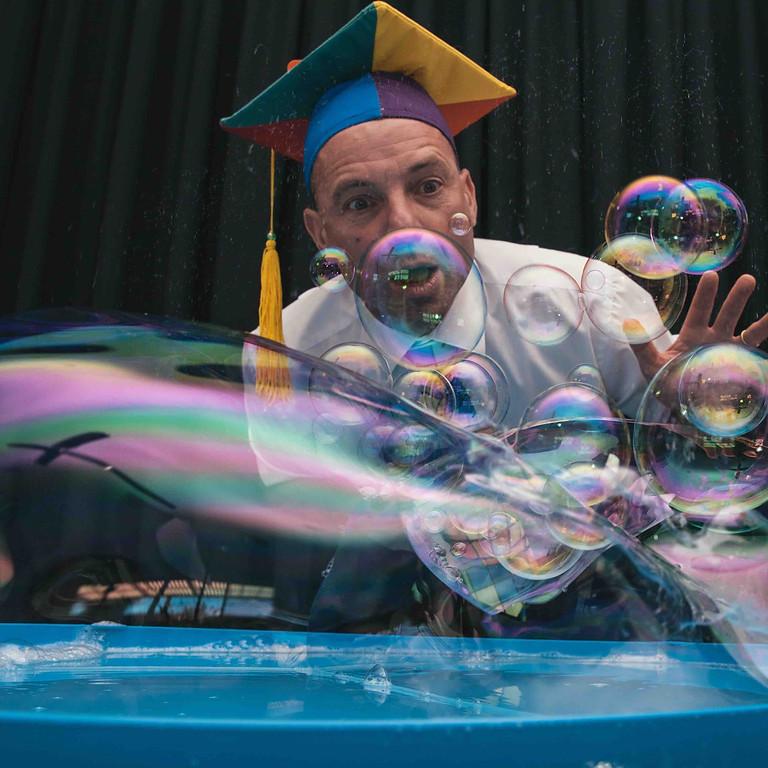 Scientific Bubble Show with Marty McBubble