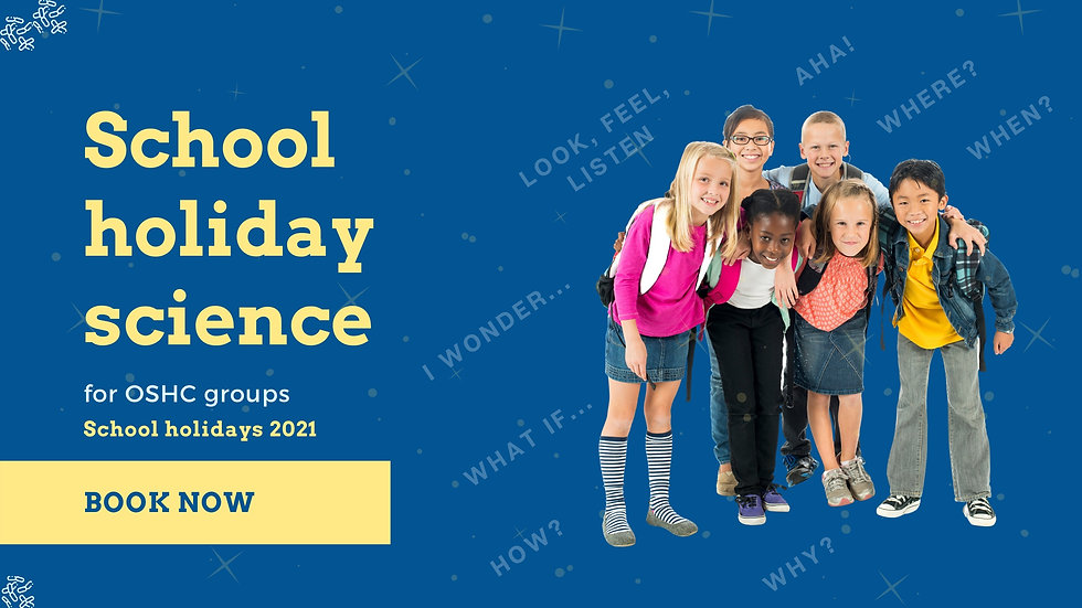Web banner_School holiday science 2021 (