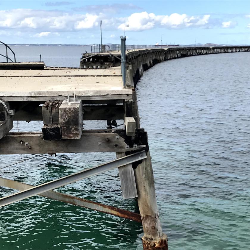 storm damaged esperance jetty