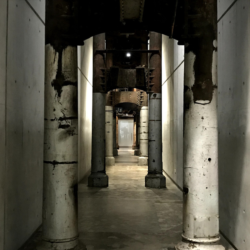 old hallway of carriageworks